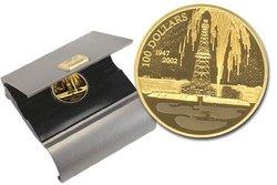 100 DOLLARS -  DÉCOUVERTE DU PÉTROLE EN ALBERTA -  PIÈCES DU CANADA 2002 27