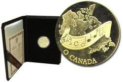 100 DOLLARS -  O CANADA -  PIÈCES DU CANADA 1981 06