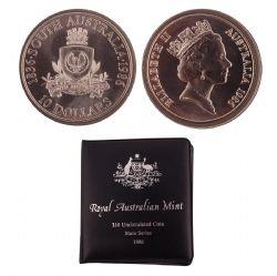 150E ANNIVERSAIRE DE L'AUSTRALIE DU SUD -  PIÈCES DE L'AUSTRALIE 1986