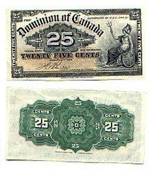 1900 -  25 CENTS PAPIER 1900, BOVILLE (AU)