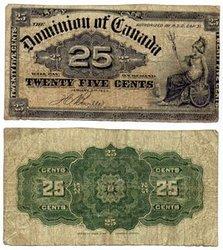 1900 -  25 CENTS PAPIER 1900, BOVILLE (F)