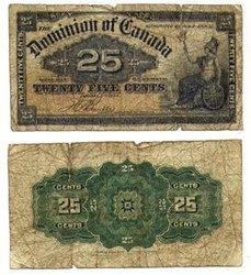 1900 -  25 CENTS PAPIER 1900, BOVILLE (G)
