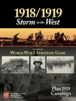 1918/1919: STORM IN THE WEST (ANGLAIS)