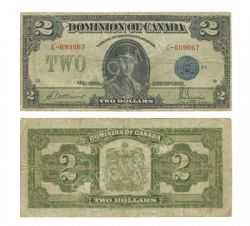 1923 -  2 DOLLARS 1923, MCCAVOUR/SAUNDERS (VF)