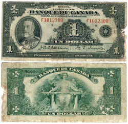 1935 -  1 DOLLAR 1935, OSBORNE/TOWERS (G)