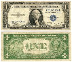 1935 -  1 DOLLAR  DES ETATS-UNIS (F)