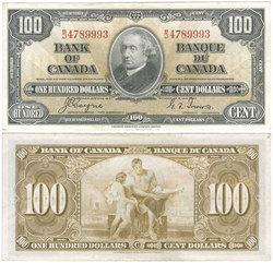 1937 -  100 DOLLARS 1937, COYNE/TOWERS (AU)