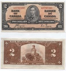 1937 -  2 DOLLARS 1937, COYNE/TOWERS (AU)