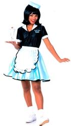1950 -  COSTUME DE SERVEUSE DES ANNÉES 50 (FEMME)