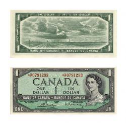 1954 - PORTRAIT MODIFIE -  1 DOLLAR 1954, BOUEY/RASMINSKY (UNC)
