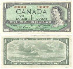 1954 - PORTRAIT MODIFIE -  1 DOLLAR 1954, LAWSON/BOUEY (EF)