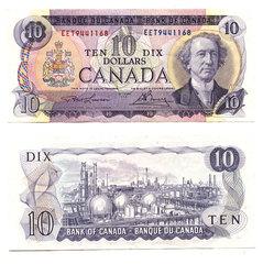 1971 -  10 DOLLARS 1971, LAWSON/BOUEY (EF)