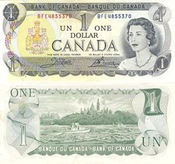 1973 -  1 DOLLAR 1973, CROW/BOUEY (EF)