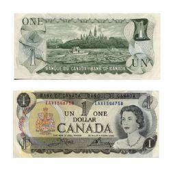 1973 -  1 DOLLAR 1973, CROW/BOUEY (VF)