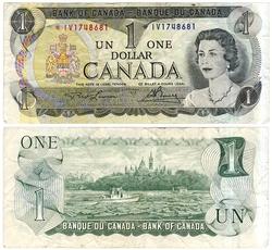 1973 -  1 DOLLAR 1973, LAWSON/BOUEY (F)