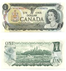 1973 -  1 DOLLAR 1973, LAWSON/BOUEY (UNC)