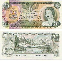 1979 -  20 DOLLARS 1979, CROW/BOUEY (UNC)