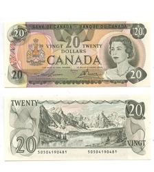 1979 -  20 DOLLARS 1979, LAWSON/BOUEY (CUNC)