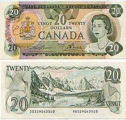 1979 -  20 DOLLARS 1979, LAWSON/BOUEY (UNC)
