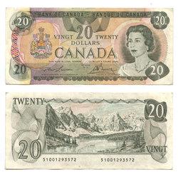 1979 -  20 DOLLARS 1979, LAWSON/BOUEY (VF)