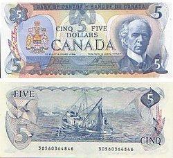 1979 -  5 DOLLARS 1979, CROW/BOUEY (AU)