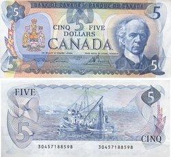 1979 -  5 DOLLARS 1979, LAWSON/BOUEY (EF)