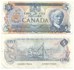 1979 -  5 DOLLARS 1979, LAWSON/BOUEY (F)