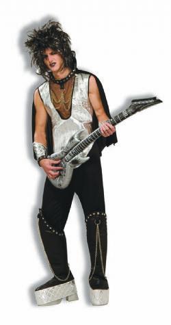 1980 -  COSTUME DE MUSICIEN ROCK (TAILLE UNIQUE)
