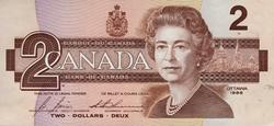 1986 -  2 DOLLARS 1986, BONIN/THIESSEN (UNCC)