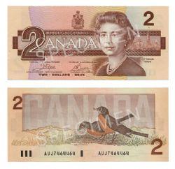 1986 -  2 DOLLARS 1986, CROW/BOUEY (AU)