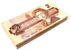 1986 -  2 DOLLARS 1986, EN LOT DE 100 BILLETS CIRCULÉS (VG-UNC)