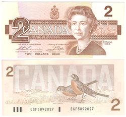 1986 -  2 DOLLARS 1986, THIESSEN/CROW (AU)