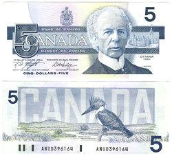 1986 -  5 DOLLARS 1986, KNIGHT/DODGE (AU)