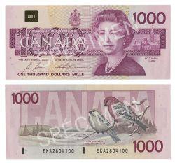 1988 -  1000 DOLLARS 1988, BONIN/THIESSEN (EF)