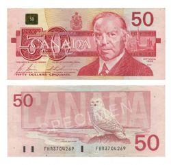 1988 -  50 DOLLARS 1988, BONIN/THIESSEN (F)