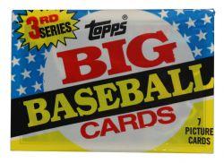 1989 BASEBALL -  TOPPS BIG SERIES 3 WAX PACK