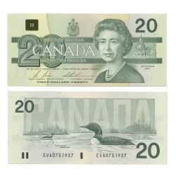 1991 -  20 DOLLARS 1991, BONIN/THIESSEN (AU)