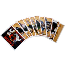 1991 BASEBALL -  SERIE BASEBALL HANK AARON HEROES (10 CARTES)