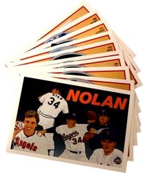 1991 BASEBALL -  SERIE BASEBALL NOLAN RYAN HEROES (10 CARTES)