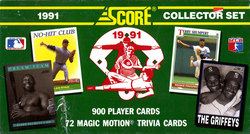 1991 BASEBALL -  SERIE SCORE FACTORY (900 CARTES)