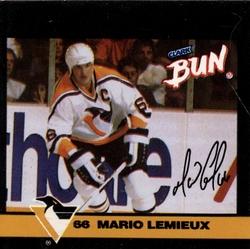1992-93 HOCKEY -  SÉRIE CLARK CANDY MARIO LEMIEUX (3 CARTES)