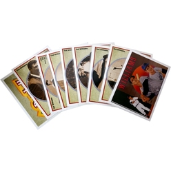 1992 BASEBALL -  SERIE BASEBALL TED WILLIAMS HEROES (11 CARTES)