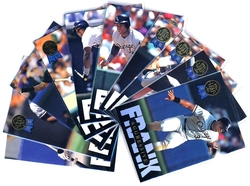1993 BASEBALL -  SERIE LEAF THOMAS (10 CARTES)