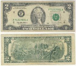 1995 -  2 DOLLARS DES ETATS-UNIS