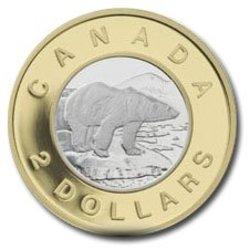 2 DOLLARS -  10EME ANNIVERSAIRE DE LA PIÈCE DE 2 DOLLARS -  PIÈCES DU CANADA 2006 OR