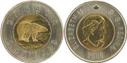 2 DOLLARS -  2 DOLLARS 2005 - BRILLANT INCIRCULÉ (BU) -  PIÈCES DU CANADA 2005