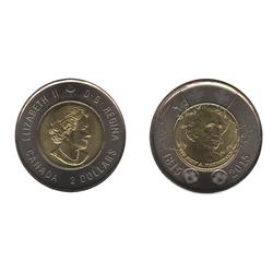 2 DOLLARS -  2 DOLLARS 2015 - SIR JOHN A. MACDONALD - BRILLANT INCIRCULE (BU) -  PIÈCES DU CANADA 2015