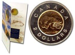 2 DOLLARS -  PIÈCE DE 2 DOLLARS INCIRCULE 1996 -  PIÈCES DU CANADA 1996