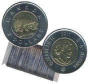 2 DOLLARS -  ROULEAU ORIGINAL DE 2 DOLLARS 2011