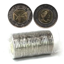 2 DOLLARS -  ROULEAU ORIGINAL DE 2 DOLLARS 2014 - ATTENDS-MOI PAPA -  PIÈCES DU CANADA 2014